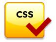 Logotipo validador de estándares de maquetación Web CSS