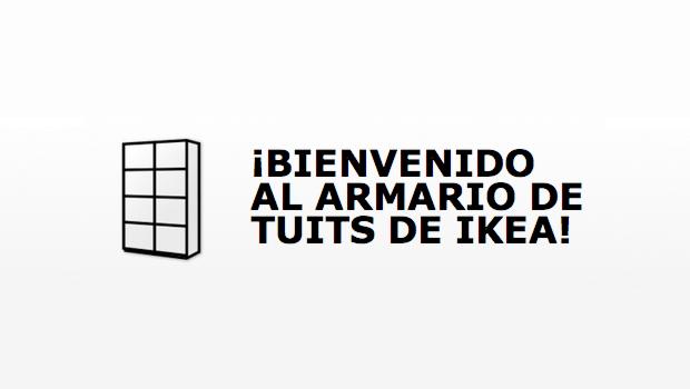 ITEA Soluciones TIC - IKEA crea un armario de tuits -