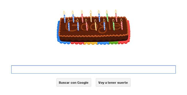 ITEA Soluciones TIC - Google celebra su 14 cumpleaños -