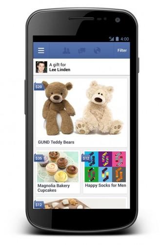 ITEA Soluciones TIC - 'Facebook Gifts', nuevo servicio de regalos por Facebook -